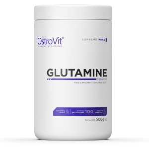 Supliment alimentar, L-Glutamina (5000 mg), OstroVit Supreme Pure Glutamine - 500 g (100 doze) [0]
