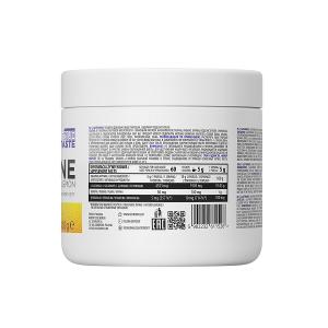 Supliment alimentar, L-Glutamina (5000 mg), OstroVit Supreme Pure Glutamine - 300 g (60 doze) - Lemon [1]