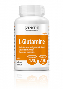Supliment alimentar, L-Glutamine - 120 g (pulbere) [0]