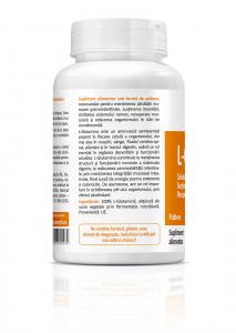 Supliment alimentar, L-Glutamine - 120 g (pulbere) [1]