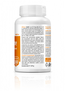 Supliment alimentar, L-Glutamine - 120 g (pulbere) [3]