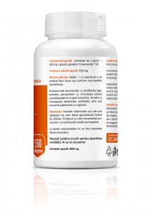 Supliment alimentar, L-Lysine (550 mg) - 60 capsule [3]