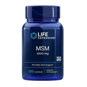 Supliment alimentar, MSM (Metilsulfonilmetan), Life Extension MSM 1000 - 100 capsule (33 doze) [0]