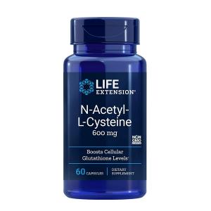 Supliment alimentar, N-Acetil-L-Cisteina (600 mg), Life Extension N-Acetyl-L-Cysteine - 60 capsule (60 doze) [0]
