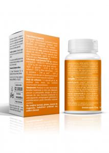 Supliment alimentar, Longvida® Brain Curcumin (500 mg) - 30 capsule [1]