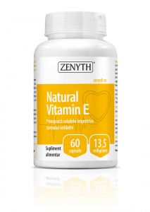 Supliment alimentar, Natural Vitamin E (13,5 mg) - 60 capsule [0]