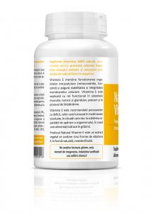 Supliment alimentar, Natural Vitamin E (13,5 mg) - 60 capsule [1]