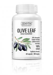 Supliment alimentar, Olive Leaf (400 mg) - 60 capsule [0]