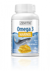 Supliment alimentar, Zenyth Pharmaceuticals Omega 3 (1000 mg) - 60 capsule [0]
