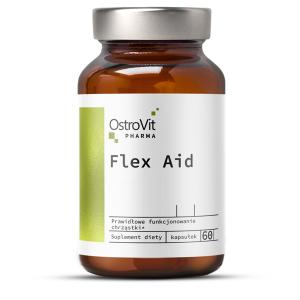Complex pentru Oase si Articulatii, OstroVit Pharma Flex Aid - 60 capsule (30 doze) [0]