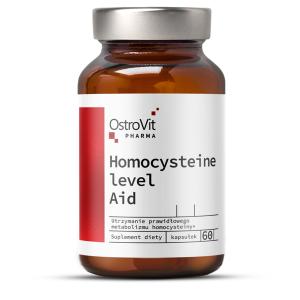 Complex pentru Metabolismul Homocisteinei, OstroVit Pharma Homocysteine Level Aid - 60 capsule (30 doze) [0]