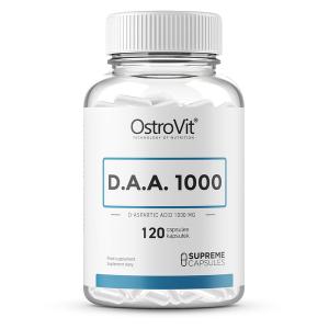 Supliment alimentar, Acid D-Aspartic (3000 mg), OstroVit Supreme Capsules D.A.A 1000 - 120 capsule (40 doze) [0]