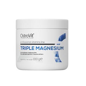 Supliment alimentar, Complex de Magneziu (1485 mg), OstroVit Triple Magnesium - 100 g (66 doze) [0]