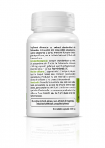 Supliment alimentar, Schisandra (540 mg) - 30 capsule [1]