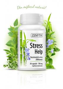 Supliment alimentar, Stress Help (700 mg) - 30 capsule [0]