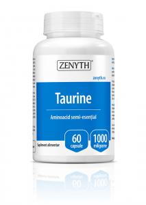Supliment alimentar, Taurine (1000 mg) - 60 capsule [0]