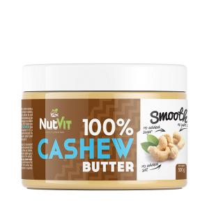 Unt de Caju, NutVit 100% Cashew Butter - 500 g (Vegan, Vegetarian) [0]