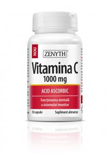 Supliment alimentar, Vitamina C 1000 mg - 30 capsule [0]