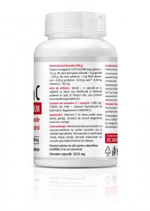 Pachet promotional Vitamina C Premium cu rodie (1000 mg) - 90 capsule [3]