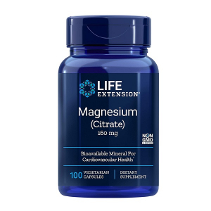 Supliment alimentar, Citrat de Magneziu (160 mg), Life Extension Magnesium (Citrate) - 100 capsule (100 doze) [0]