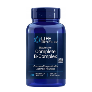 Complex de Vitamine B, Life Extension BioActive Complete B-Complex - 60 capsule (30 doze) [0]