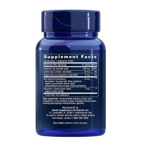 Complex Antioxidant cu Vitamina C si Quercetina, Life Extension, Fast-C® and Bio-Quercetin Phytosome - 60 comprimate (60 doze) [1]