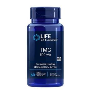 Supliment aliemntar, Trimetilglicina (1000 mg), Life Extension TMG - 60 capsule (30 doze) [0]