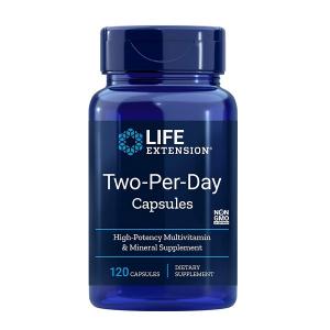Complex de Multivitamine si Minerale, Life Extension Two-Per-Day Capsules - 120 capsule (60 doze) [0]