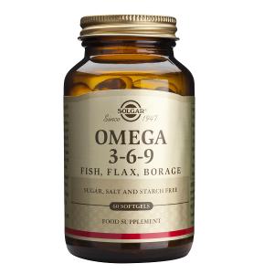 Supliment alimentar, Solgar Omega 3-6-9 - 60 capsule