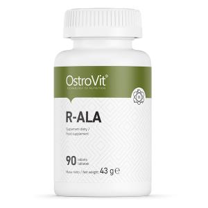 Supliment alimentar, Acid R-Alfa Lipoic (100 mg), OstroVit R-ALA - 90 comprimate (90 doze) [0]