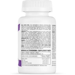 Supliment alimentar, Biotina (2500µg), OstroVit Biotin Plus - 100 comprimate (100 doze) [1]