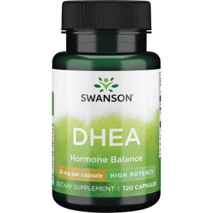Supliment alimentar, Dehidroepiandrosterona (25 mg), Swanson DHEA - 120 capsule (120 doze) [0]