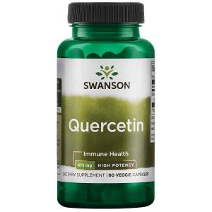 Supliment alimentar, Quercetina (475 mg), Swanson High Potency Quercetin - 60 capsule (60 doze) [0]