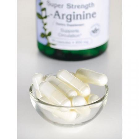 Supliment alimentar, L-arginina (850 mg) Swanson L-Arginine - 90 capsule (90 doze) [2]