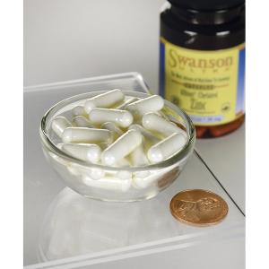 Supliment alimentar, Zinc(Chelat Glicinat de Zinc TRAACS®) - 30 mg, Swanson Albion Chelated Zinc Glycinate - 90 capsule (90 doze) [2]