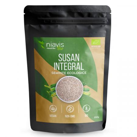 Seminte de Susan integral Ecologice/BIO - 250 g [1]