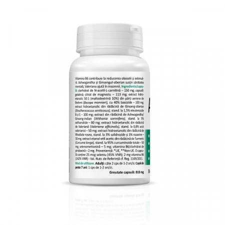 Supliment alimentar, AdaptoHelp Complex - 30 capsule [2]
