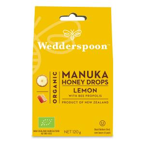 Supliment alimentar, Bomboane (Dropsuri) Ecologice cu Miere de Manuka, Lamaie si Propolis - 120 g [0]