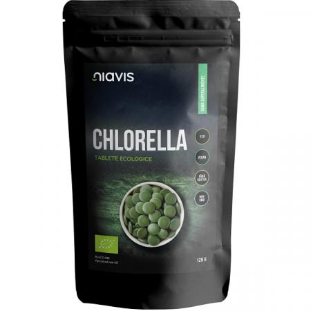 Chlorella Tablete Ecologice/BIO - 125 g [0]