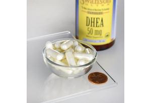 Supliment alimentar, Dehidroepiandrosterona (50 mg), Swanson Ultra DHEA - 120 capsule (120 doze) [2]