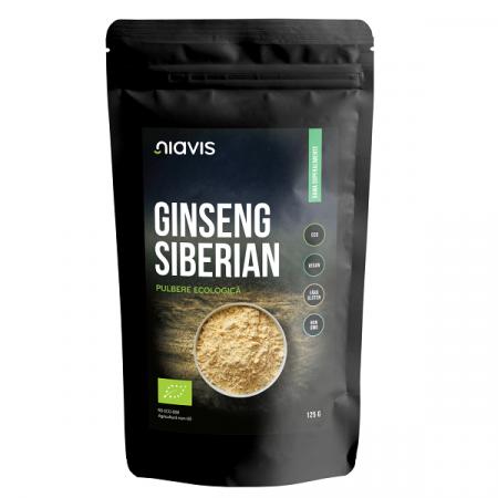 Ginseng Siberian Pulbere Organica/Bio - 125 g [0]