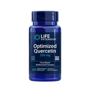 Supliment alimentar, Imunitate si Suport Celular, Quercetina (250 mg), Life Extension Optimized Quercetin - 60 capsule (60 doze) [0]