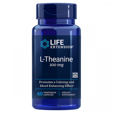 Supliment alimentar, L-Teanina (100 mg), Life Extension L-Theanine - 60 capsule [0]