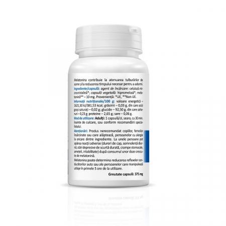 Supliment alimentar, Melatonina, Melatonin Forte (10 mg) - 30 capsule [2]