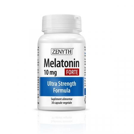 Supliment alimentar, Melatonina, Melatonin Forte (10 mg) - 30 capsule [0]