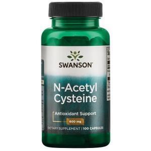 Supliment alimentar, N-Acetil Cisteina (600 mg), Swanson NAC N-Acetyl Cysteine - 100 capsule (100 doze) [0]