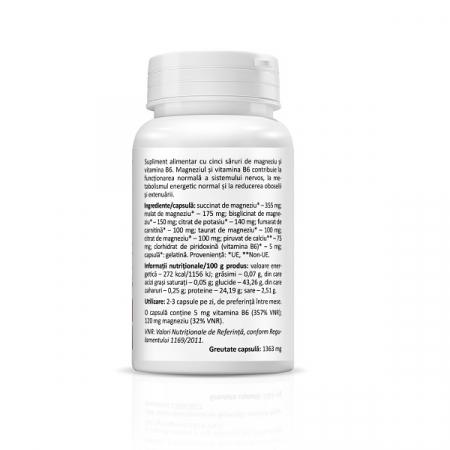 Supliment alimentar, PentaMag - 30 capsule [2]