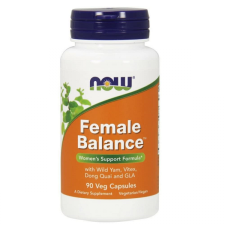 Supliment alimentar pentru Femei, Now Foods Female Balance - 90 capsule (90 doze) [0]
