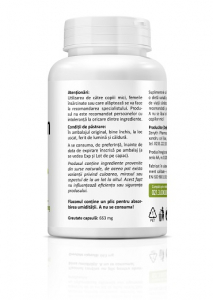 Supliment alimentar, Quercetin (500 mg) - 90 capsule vegetale [2]