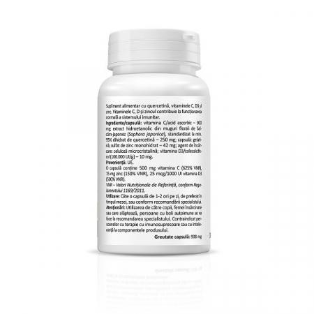 Supliment alimentar, Quercetina, Quercetin Immune Complex - 30 capsule [2]